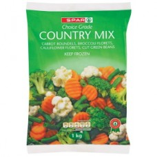 SPAR FROZEN COUNTRY MIX 1KG