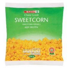 SPAR FROZEN SWEETCORN 250GR
