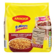 MAGGI 2 MIN NOODLES DURBAN CURRY 5'S