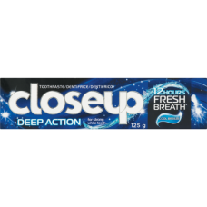 CLOSE UP TOOTHPASTE COOL BREEZE 125GR